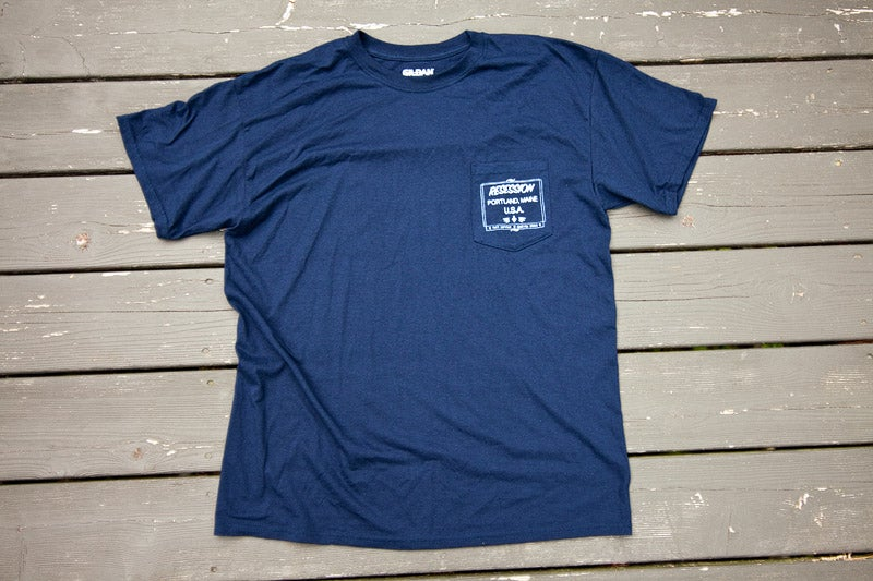 Image of RESESSION FULL SERVICE POCKET T-SHIRT