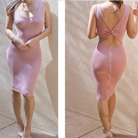 Image of HOT FRONT BACK TWO WAYS WEAR HOT DRESS