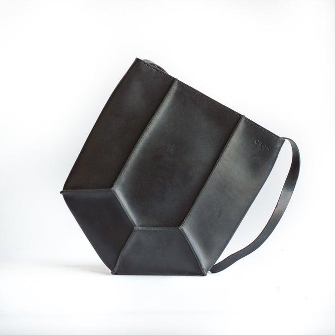 Image of Pentagon Shoulder Bag in Black