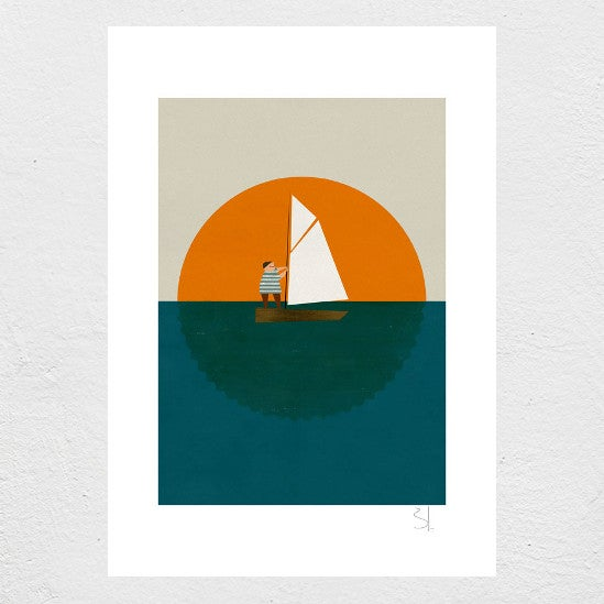 Image of Little Sailor Print