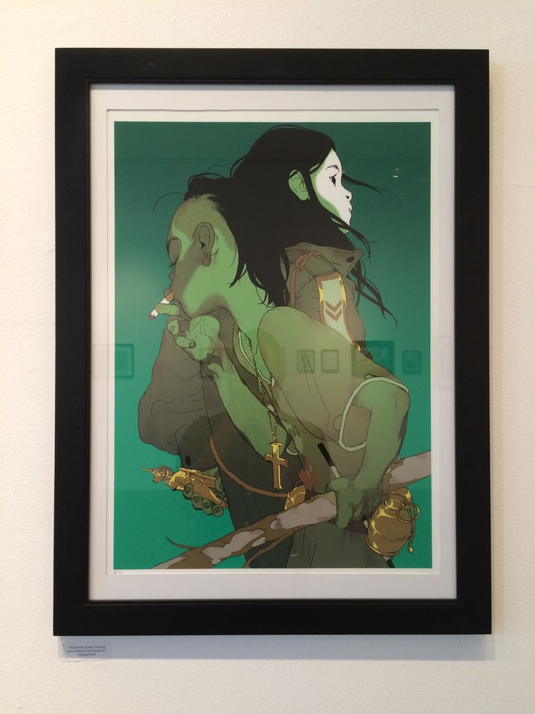 Image of Tomer Hanuka's 'The Divine' (Green Version) AP