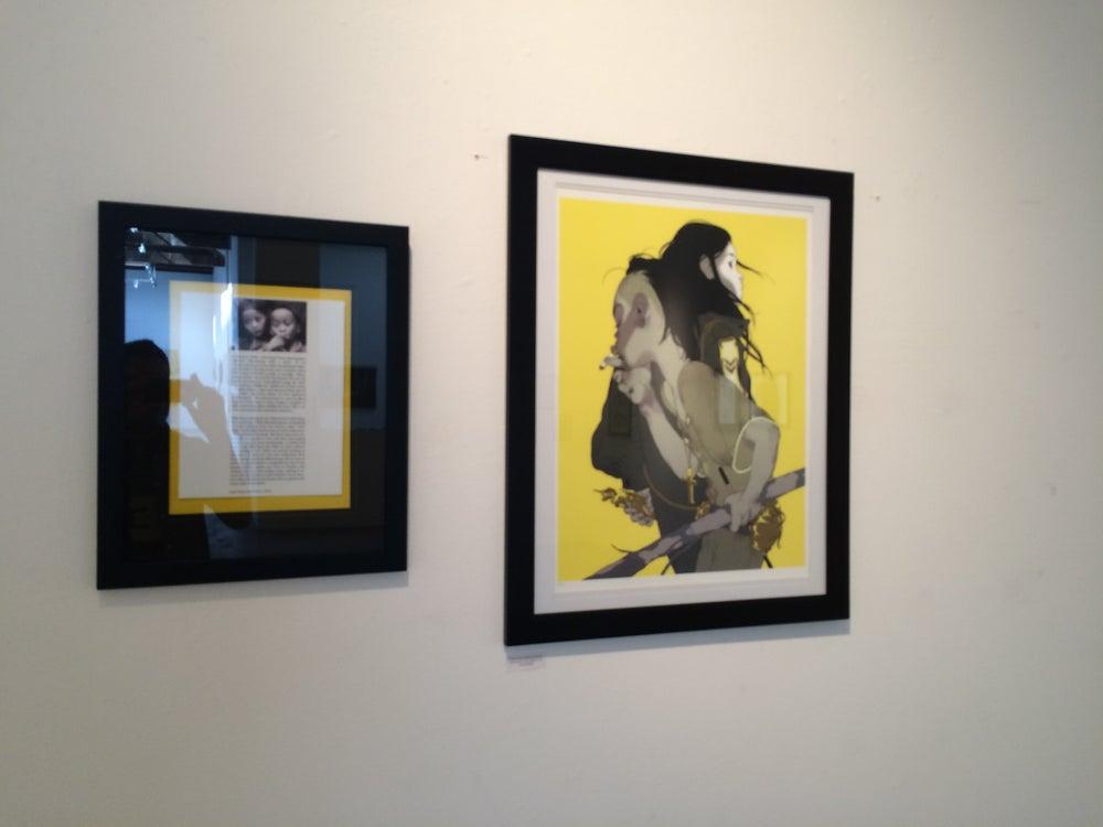 Image of Tomer Hanuka's 'The Divine' (Yellow Version) AP