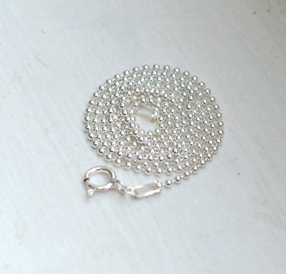 Image of Sterling Silver Ball Chain: 1.5MM