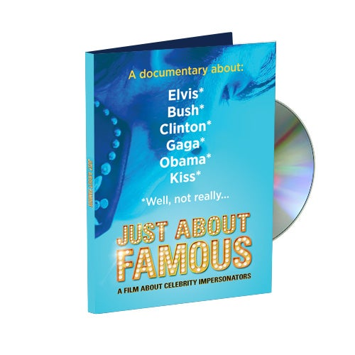 Image of Just About Famous DVD