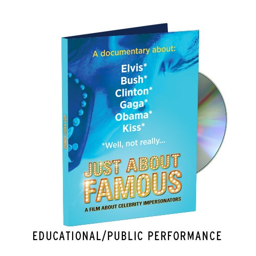 Image of Just About Famous - Educational DVD with Public Performance Rights