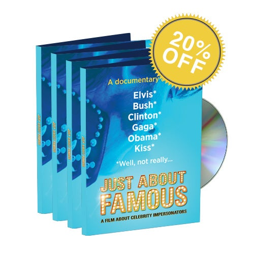 Image of Just About Famous DVD 4-Pack