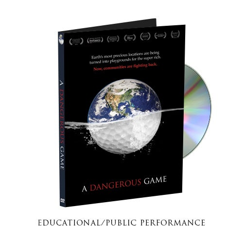 Image of A Dangerous Game - Educational DVD with Public Performance Rights