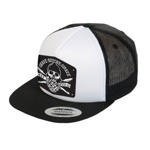 Image of GRAVE BEFORE SHAVE  Trucker hat