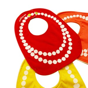Image of Pearls ) Baby's Bib