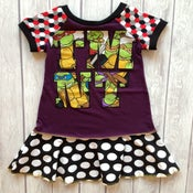 Image of TMNT dress, size 4