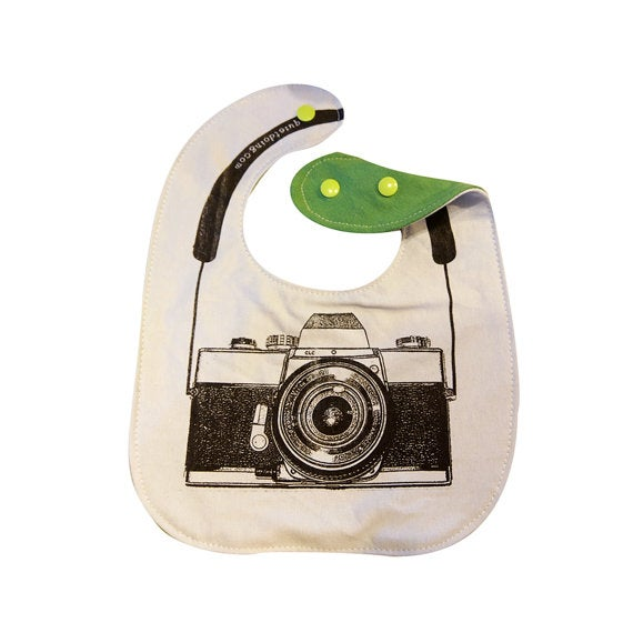 Image of Camera) Baby's Bib