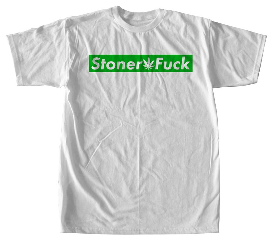 Image of Stoner Fuck Box Logo Tee