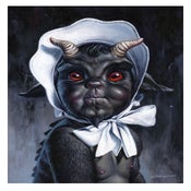 "Image of ""A Little Evil"" - 11"" x 14"" giclee"
