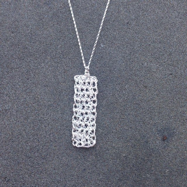 Image of Minaret necklace - silver