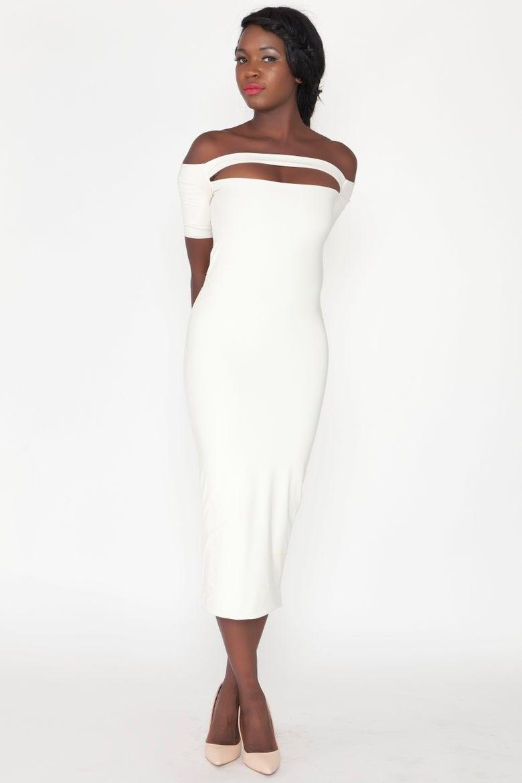 Image of Philthy Ragz Cream Donyale Luna Dress