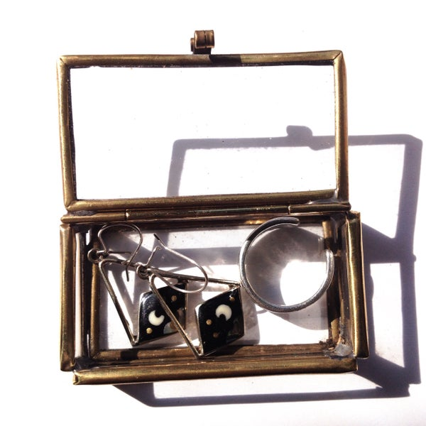 Image of Mini Glass Trinket Box
