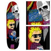 "Image of Shipyard Skates ""the Incomparable"" Trent Hazelwood  skate deck"