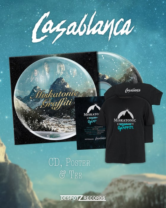 Image of Casablanca - Miskatonic Graffiti [CD/poster/T-shirt]