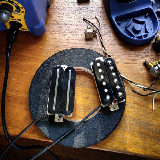 Image of Custom Wound Humbucker