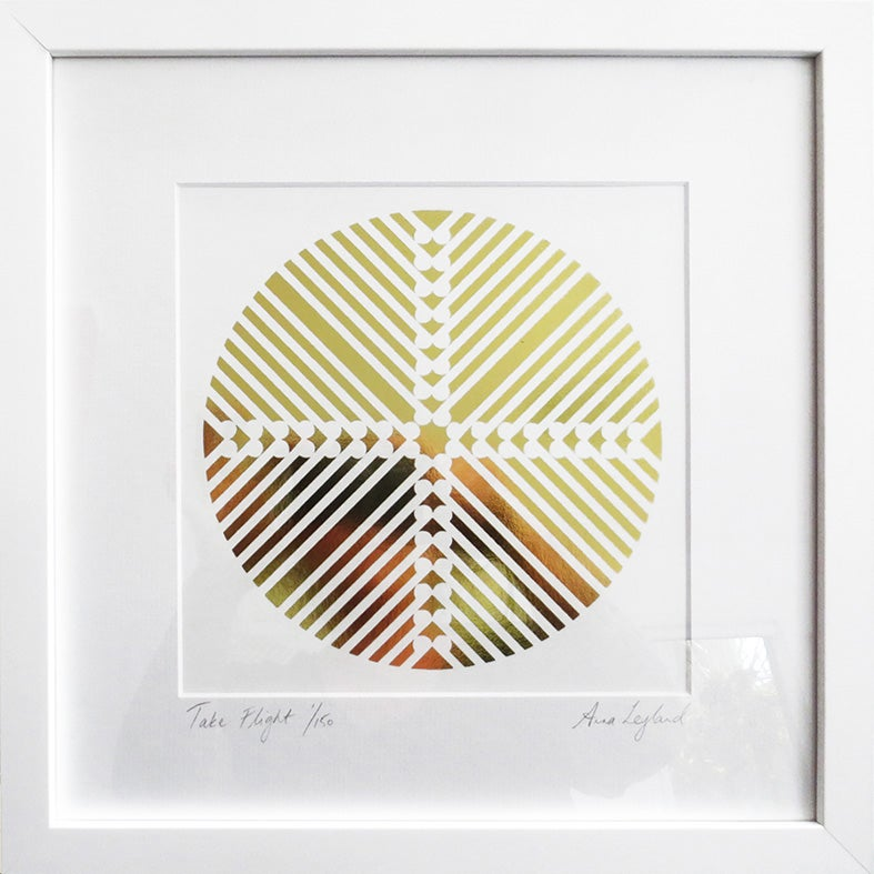 Image of Limited Edition GOLD or COPPER Print 'Take Flight'