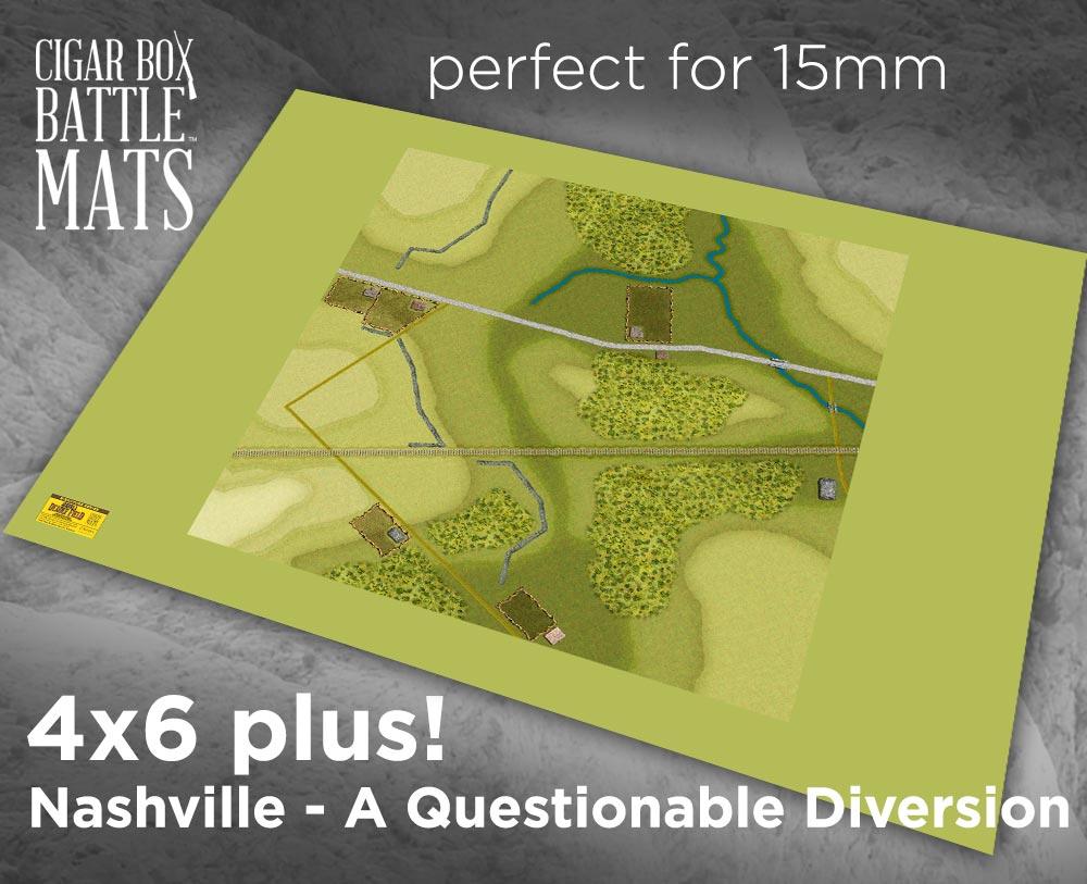 Image of The Battle of Nashville - A Questionable Diversion ADF 4x6 plus #221