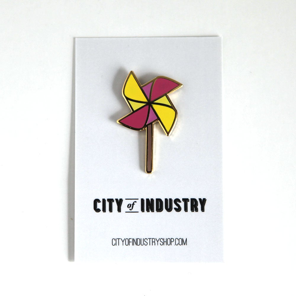 Image of Pinwheel Pin