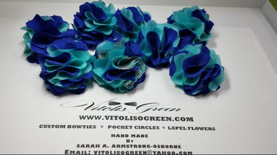 Image of WEDDING LAPEL FLOWERS