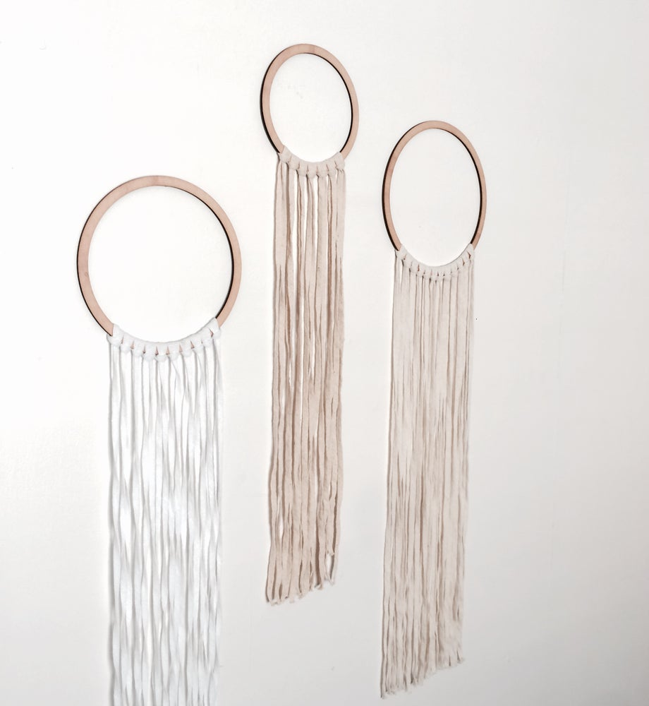 Image of NEUTRAL FRINGE DREAMER SET [3]