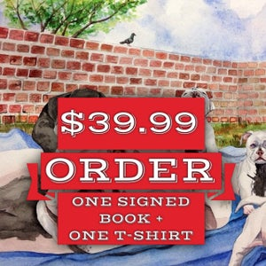 Image of One SIGNED First Edition Copy / One T-Shirt