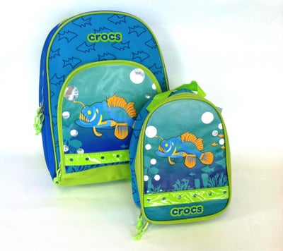 Image of Crocs Backpack and Lunch Bag