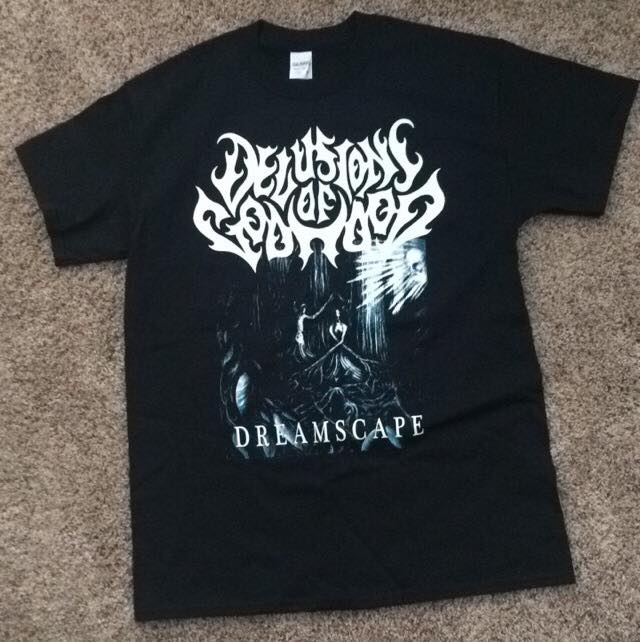 Image of Dreamscape Album Shirt - Delusions of Godhood