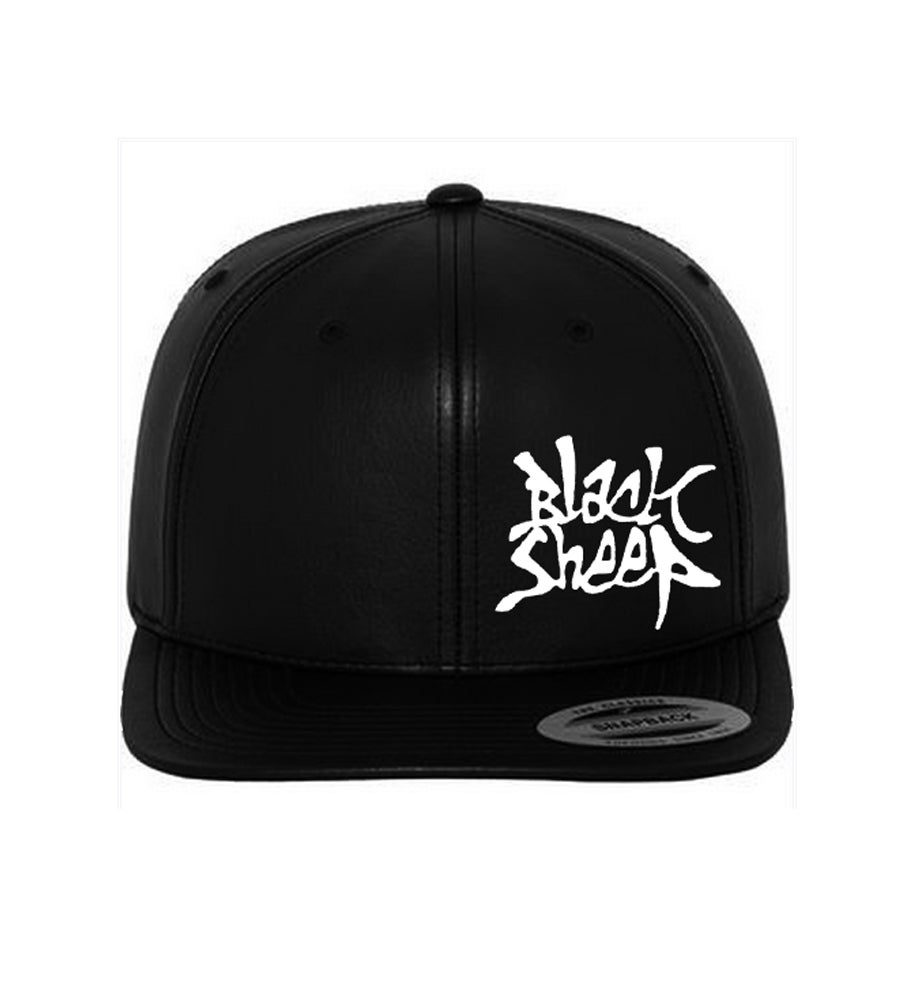 Image of PURE LEATHER SNAPBACK