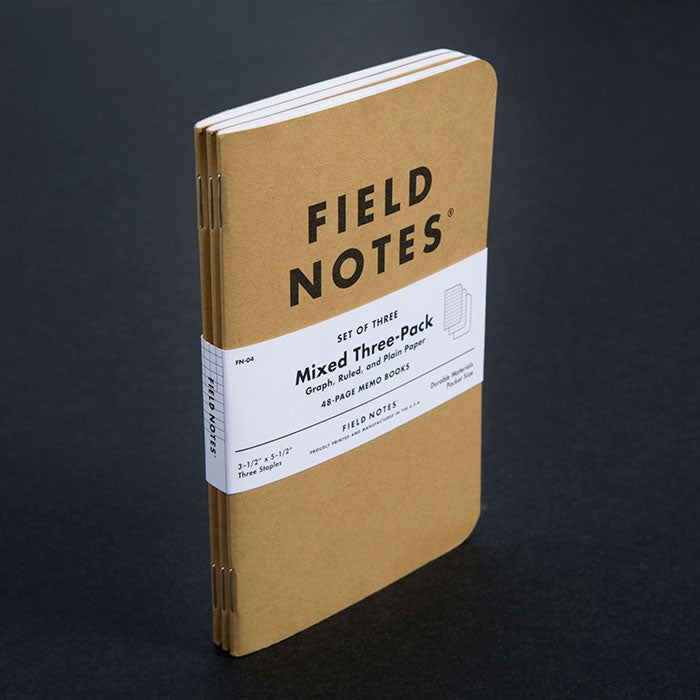 Original Field Notes 3 Pack / Old Church Works