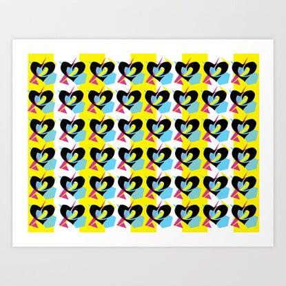 Image of Phil Heartz Wallpaper Print