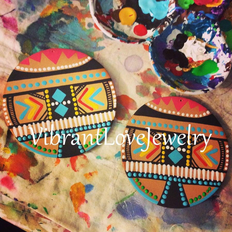 """Image of """"Indigenous Love"""" Earrings!"""