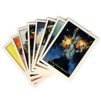 "Image of TERRORIST ATTACK ""EDUCATIONAL"" TRADING CARDS - 1986"