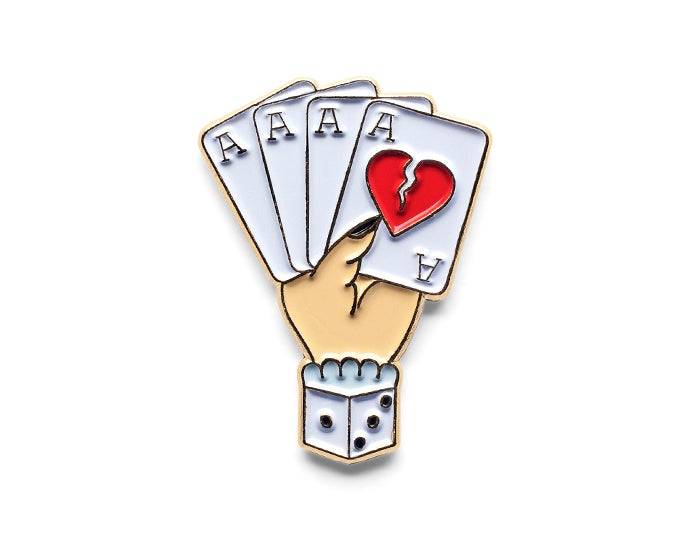 Image of Bad Suit Lapel Pin