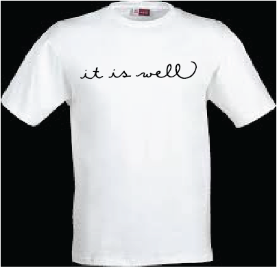 """Image of Northland Christian """"it is well""""  T-shirt"""