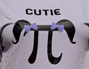 Image of Cutie Pi T-Shirt (Short-sleeved)