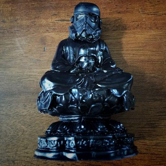 Image of HYDRO74 | MORITURI TE SALUTANT BUDDHA (Black)