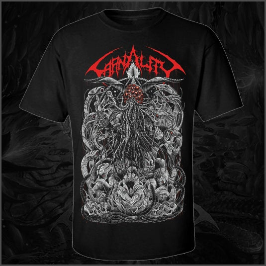 "Image of Carnality ""Lord of Drones"" T Shirt"