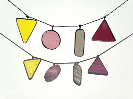 Image of Quartet of Four Coloured Shapes no.6