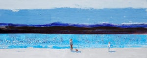 Image of Looking out over a turquoise sea - Arisaig Scotland