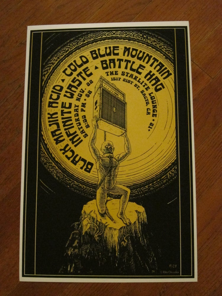 Image of Screen Printed Poster