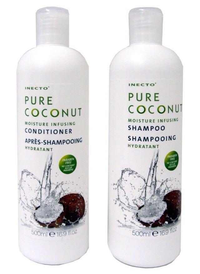Inecto Pure Coconut Shampoo And Conditioner Selina S