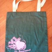"Image of ""Hearts"" Tote bag"