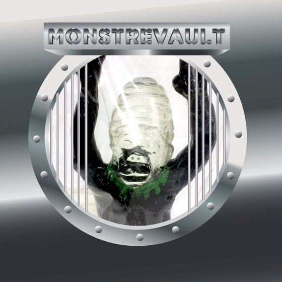 Image of MONSTREVAULT - Headless Lady Ape Green