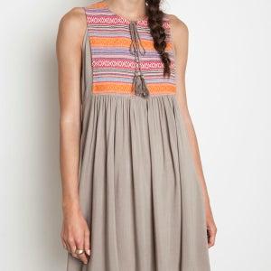 Image of Tribal Tassel Dress