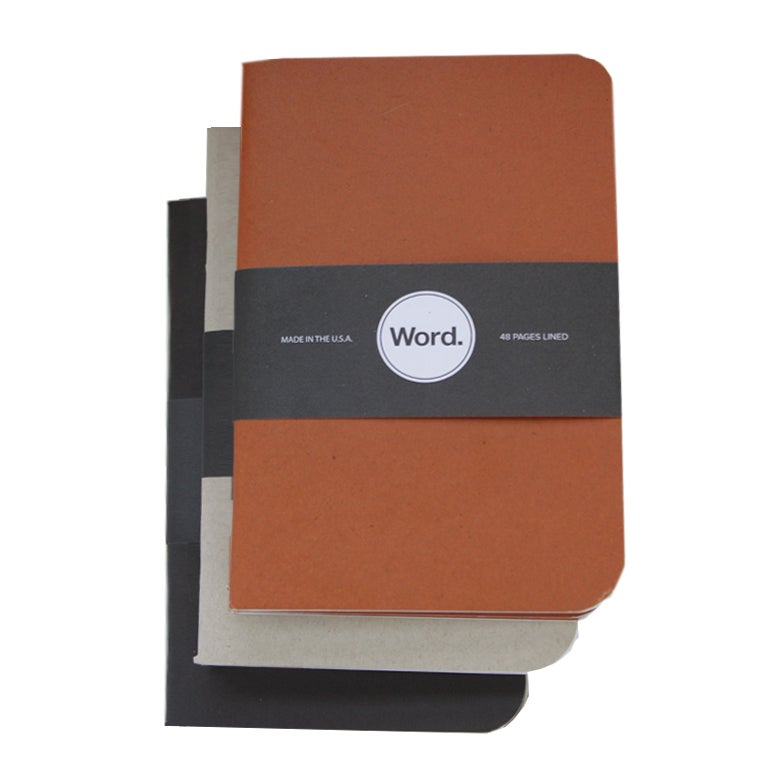 Image of Word. Notebooks
