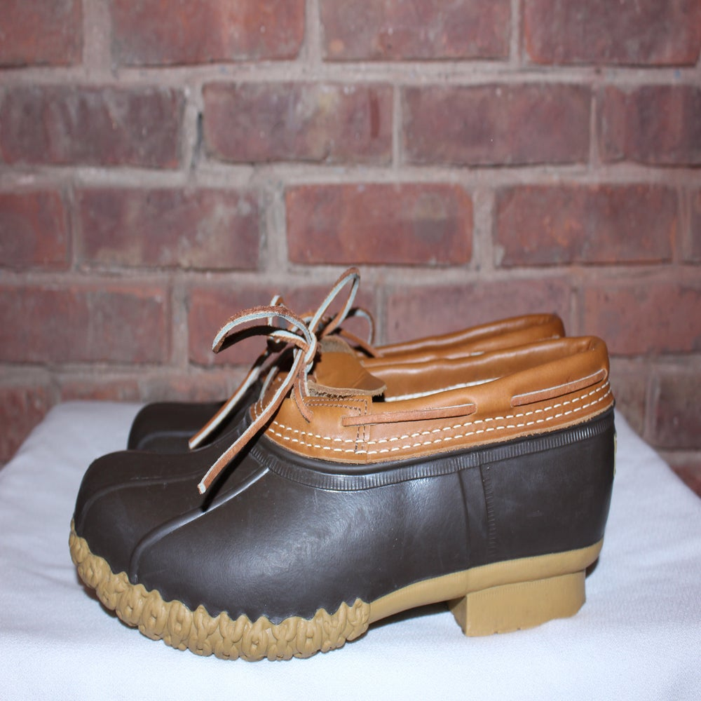Image of LL Bean Low Top Duck Boots, 13